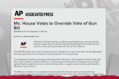 Missouri Republicans fall short on gun law