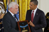 Father Emil Kapaun awarded Medal of Honor