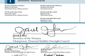 Treasury secretary upgrades from squiggle...