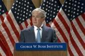 Bush advocates for veterans of his wars