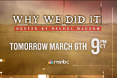 Set your DVR for Thursday's 'Why We Did It'
