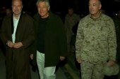 Rough visit to Afghanistan for Hagel