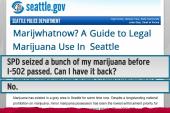 Seattle gets a primer on pot