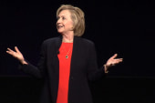 Clinton addresses 'fun deficit in America'