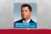 Scandal casts shadow on Christie AG candidate