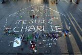 Muhammad cartoon to front next Charlie Hebdo
