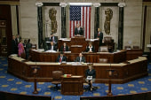 House debating second of two late-night bills