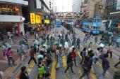 Pro-democracy protests fill Hong Kong streets