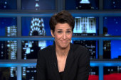 Maddow not so much with the fashion