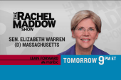 Elizabeth Warren chats with Maddow Tuesday
