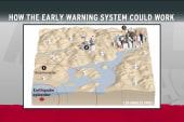 Quake warning provides life-saving seconds