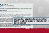 Scandal looms over missing voter applications