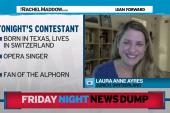 Friday Night News Dump: Alphorn edition