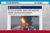Oil disasters targeted in new regulations