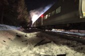 At least six dead in commuter train crash