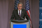 Bush campaign launch: mistakes are being made