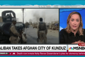 US working with Afghan forces against Taliban