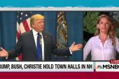 Trump, again, takes spotlight as GOP hits NH