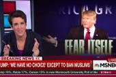 Trump calls for block of Muslims entering US