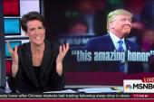 GOP no longer embarrassed to mainstream Trump