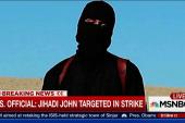 'Jihadi John' targeted in strike: US Official