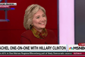 Clinton on female VP: 'not ruling anyone out'