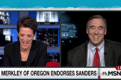 Merkley is Sanders' first Senate endorsement
