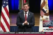 Murphy sworn in as US Army undersecretary