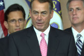 Boehner backtracks on debt ceiling...