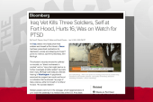 Vets maligned by lazy media on shooter story