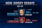 Newark Mayor Cory Booker elected to Senate