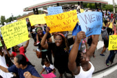 Ferguson themes cast long shadows over US