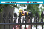 New spikes added to fortify White House fence