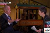 Full video: VP Joe Biden with Rachel Maddow