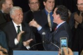 Santorum avoids touching his billionaire