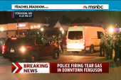 Protesters, reporters tear gassed in Ferguson