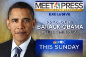 President Obama on Meet the Press this Sunday