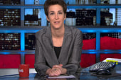 Maddow visits David Letterman Wednesday night