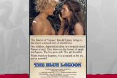 A blue lagoon with 100% less Brooke Shields