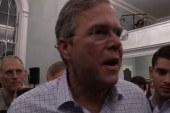 Bush ready to get tough, 'having lots of fun'