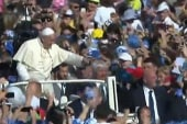 Pope Francis makes historic Mideast visit