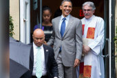 'Pastor-in-Chief' shares insights into Obama
