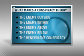 What makes a conspiracy theory?