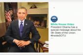 Obama releases 6-second SOTU message