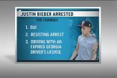 Pop star Justin Bieber arrested