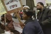 Hundreds protested in Chicago over school...