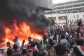 Violent protests persist in Egypt