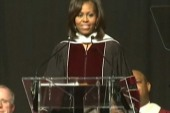 Michelle Obama speaks at EKU commencement