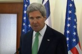 Kerry on Syria: 'Threat of force remains'
