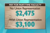Fair pay for college professors now a rarity